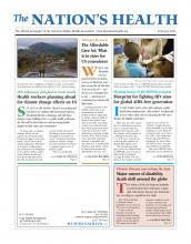 The Nation's Health: 43 (1)