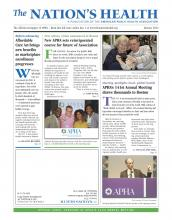 The Nation's Health: 43 (10)