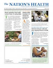 The Nation's Health: 46 (2)