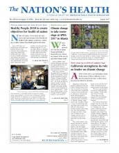 The Nation's Health: 47 (6)