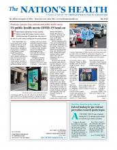 The Nation's Health: 50 (3)