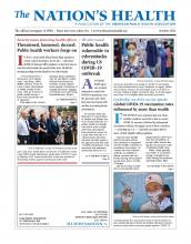 The Nation's Health: 51 (8)