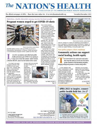 The Nation's Health: 51 (9)
