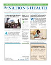 The Nation's Health: 42 (6)