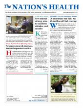The Nation's Health: 42 (9)