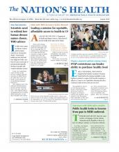 The Nation's Health: 45 (6)