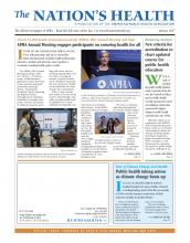 The Nation's Health: 46 (10)