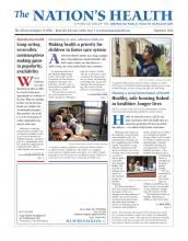 The Nation's Health: 46 (7)