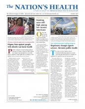 The Nation's Health: 47 (8)