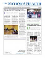 The Nation's Health: 49 (4)